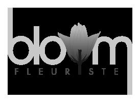 bloom fleuriste logo - by DMK Destination Art