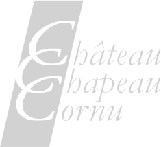 Château Chapeau Cornu logo - by DMK Destination Art